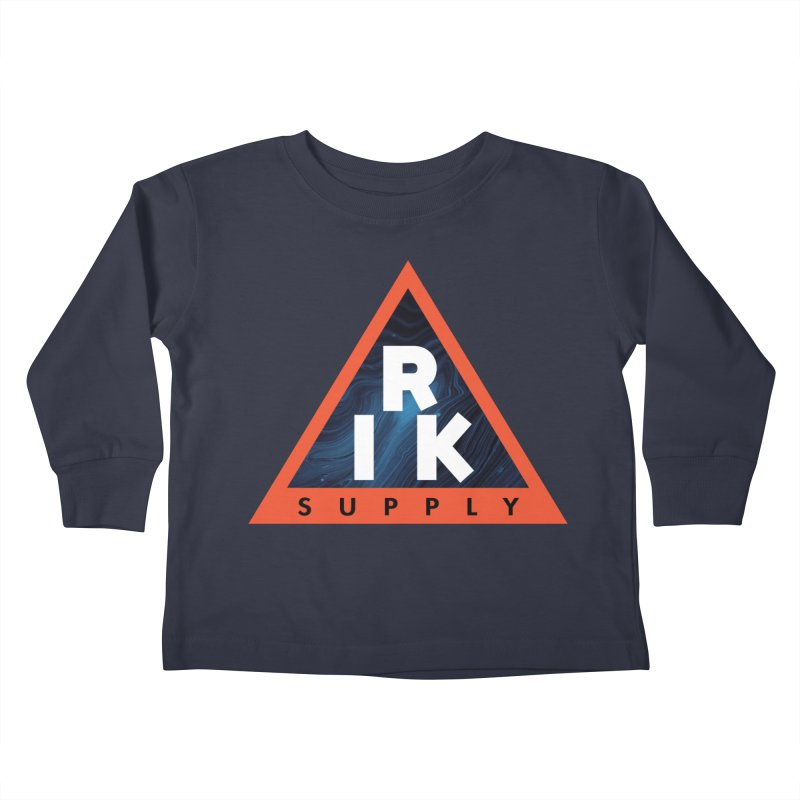 RIK.Supply (Blue Wave) Kids Toddler Longsleeve T-Shirt by RIK.Supply