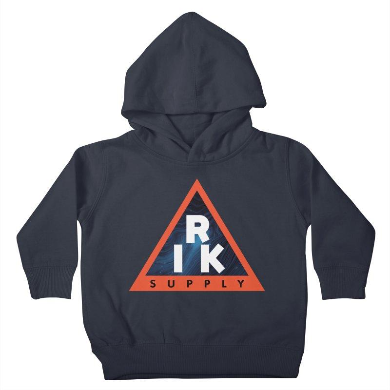 RIK.Supply (Blue Wave) Kids Toddler Pullover Hoody by RIK.Supply