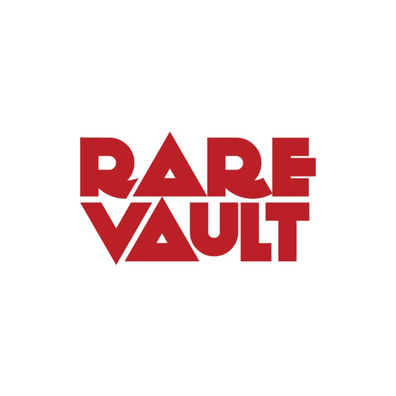 Rare Vault red logo by rarevault's Artist Shop