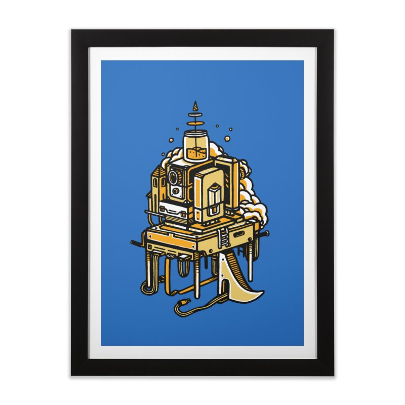 Ultrabyte Home Framed Fine Art Print by rasefour's Artist Shop