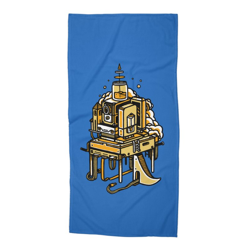 Ultrabyte Accessories Beach Towel by rasefour's Artist Shop