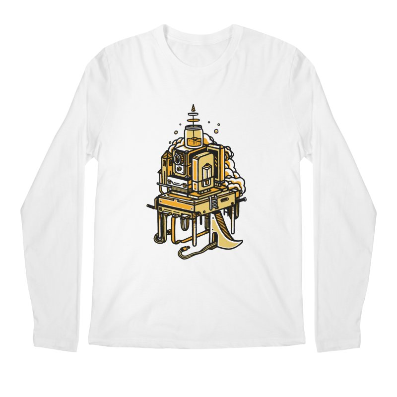 Ultrabyte Men's Longsleeve T-Shirt by rasefour's Artist Shop
