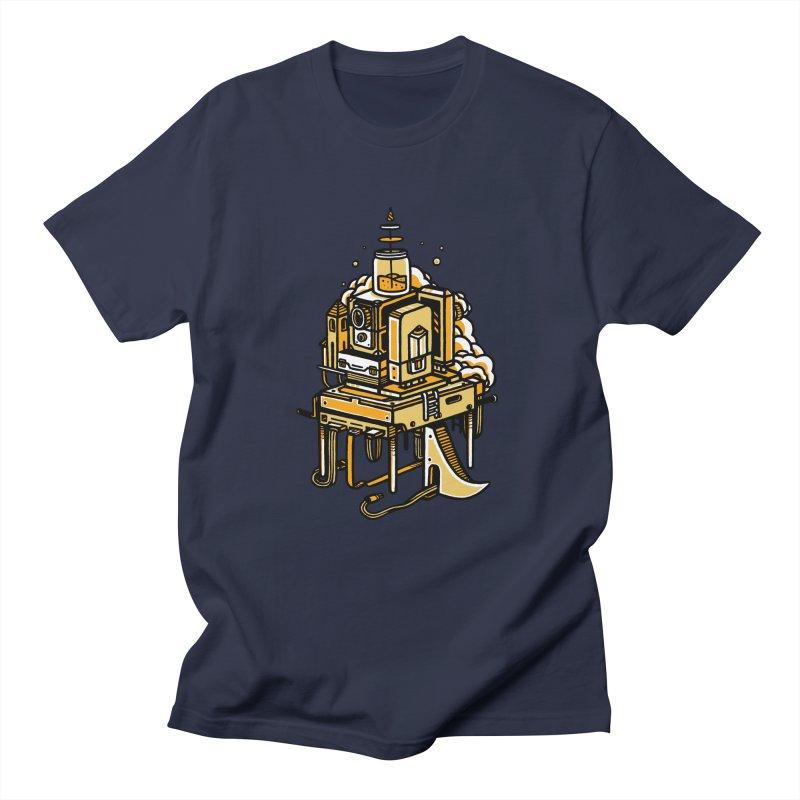 Ultrabyte Men's T-shirt by rasefour's Artist Shop