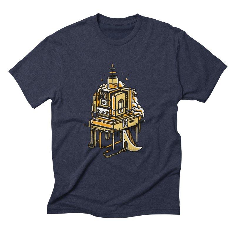 Ultrabyte Men's Triblend T-shirt by rasefour's Artist Shop