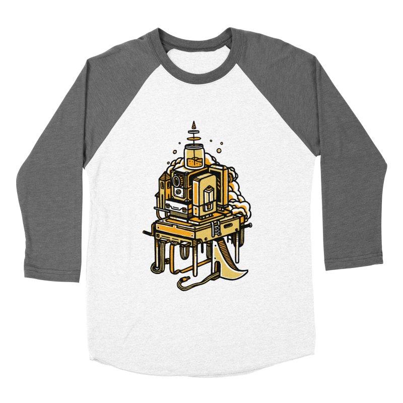 Ultrabyte Women's Baseball Triblend T-Shirt by rasefour's Artist Shop