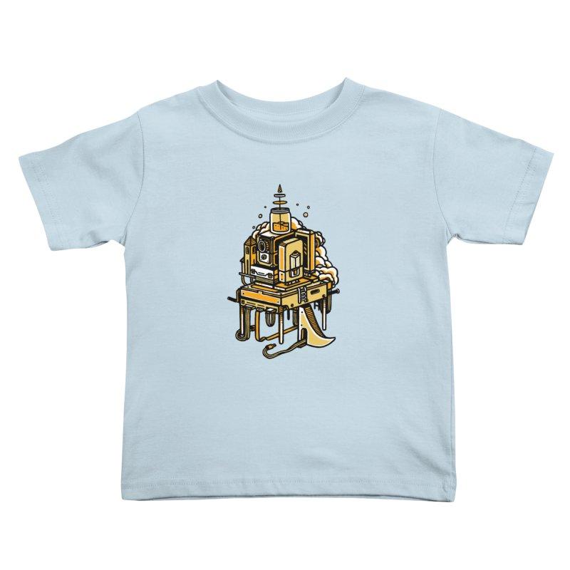 Ultrabyte Kids Toddler T-Shirt by rasefour's Artist Shop