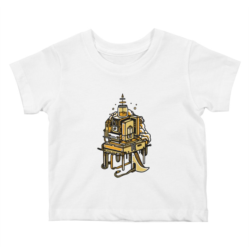 Ultrabyte Kids Baby T-Shirt by rasefour's Artist Shop