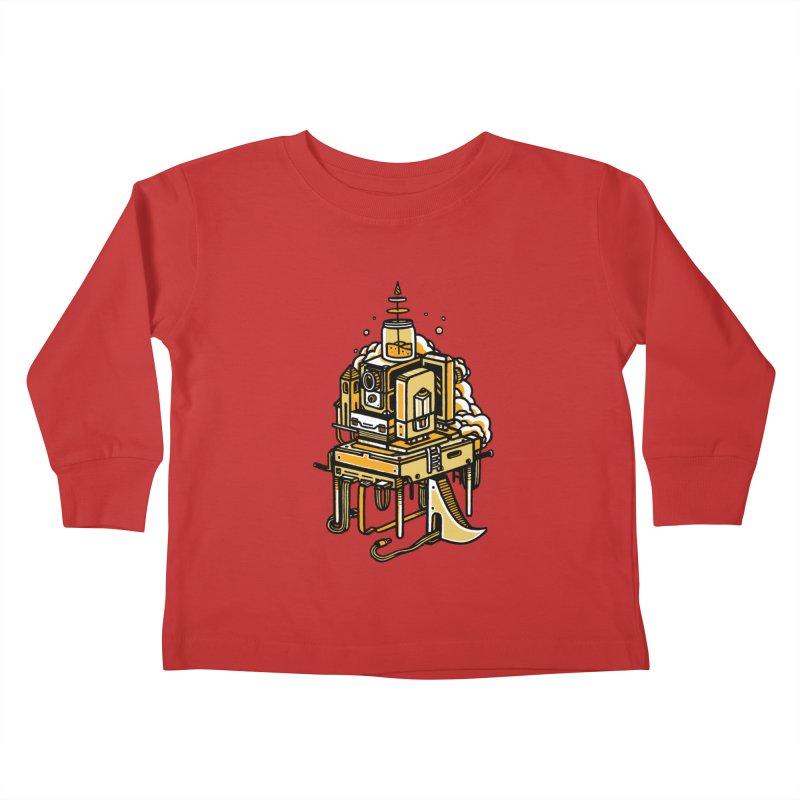 Ultrabyte Kids Toddler Longsleeve T-Shirt by rasefour's Artist Shop