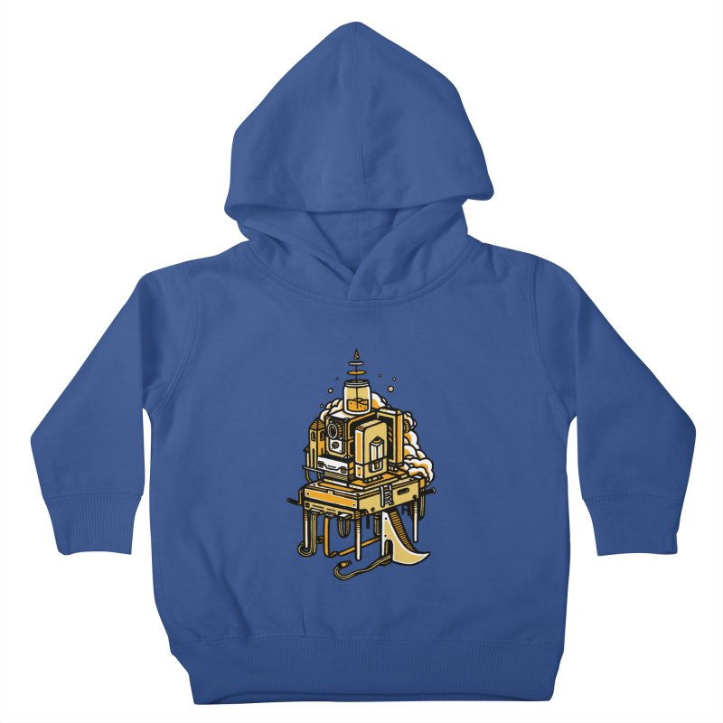 Ultrabyte Kids Toddler Pullover Hoody by rasefour's Artist Shop