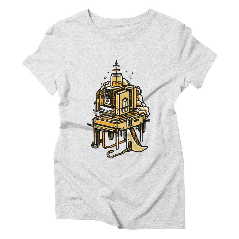 Ultrabyte Women's Triblend T-shirt by rasefour's Artist Shop