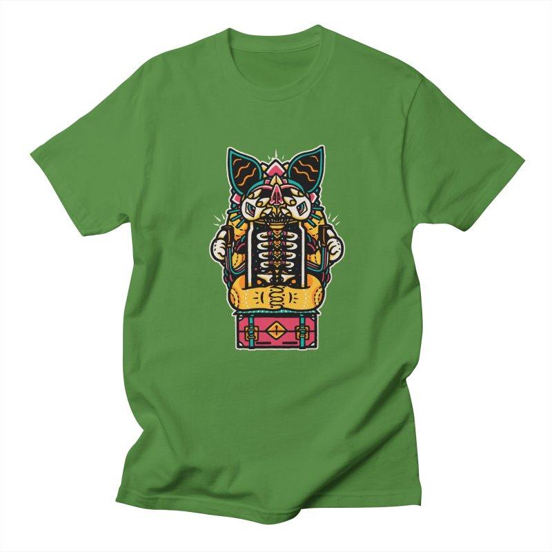 Temple Men's T-shirt by rasefour's Artist Shop