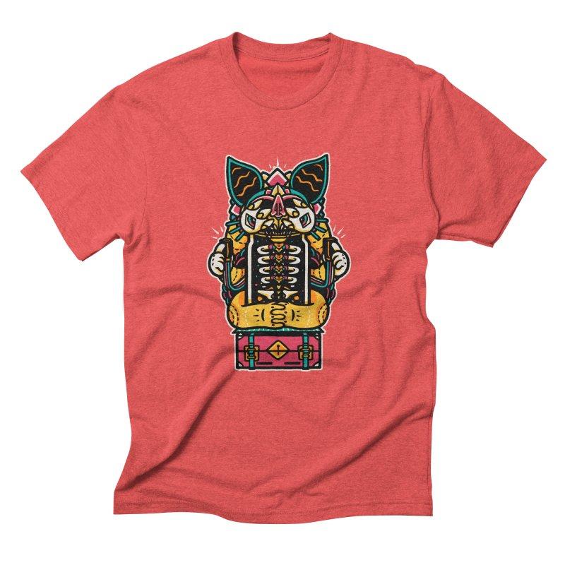 Temple Men's Triblend T-Shirt by rasefour's Artist Shop