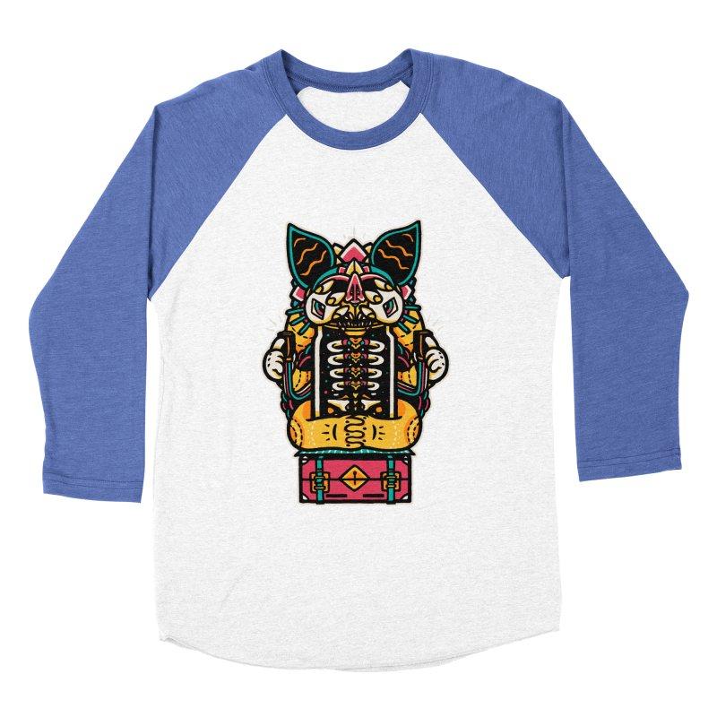 Temple Women's Baseball Triblend T-Shirt by rasefour's Artist Shop