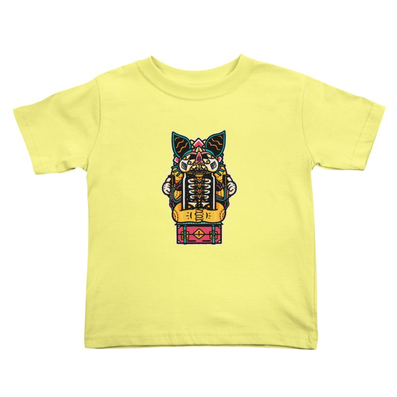 Temple Kids Toddler T-Shirt by rasefour's Artist Shop