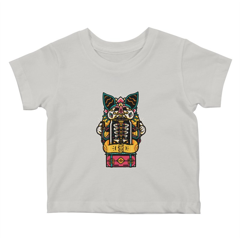 Temple Kids Baby T-Shirt by rasefour's Artist Shop