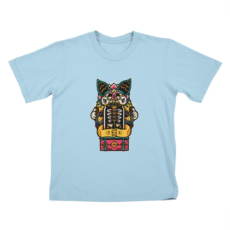 Temple Kids T-shirt by rasefour's Artist Shop