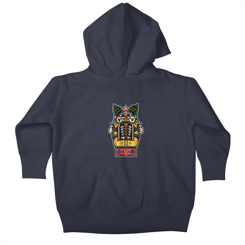 Temple Kids Baby Zip-Up Hoody by rasefour's Artist Shop