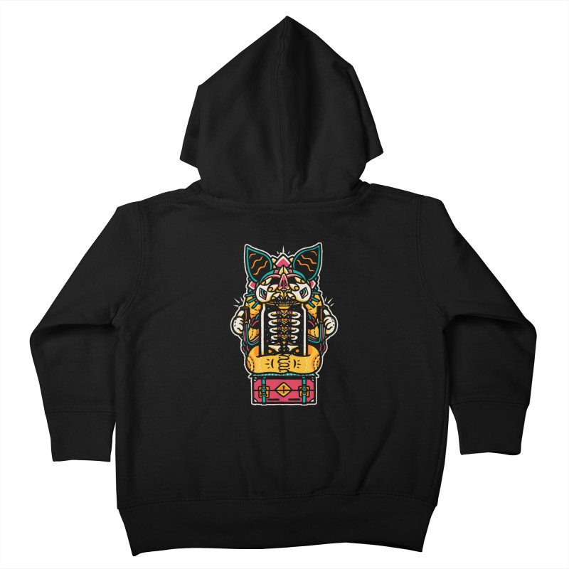 Temple Kids Toddler Zip-Up Hoody by rasefour's Artist Shop