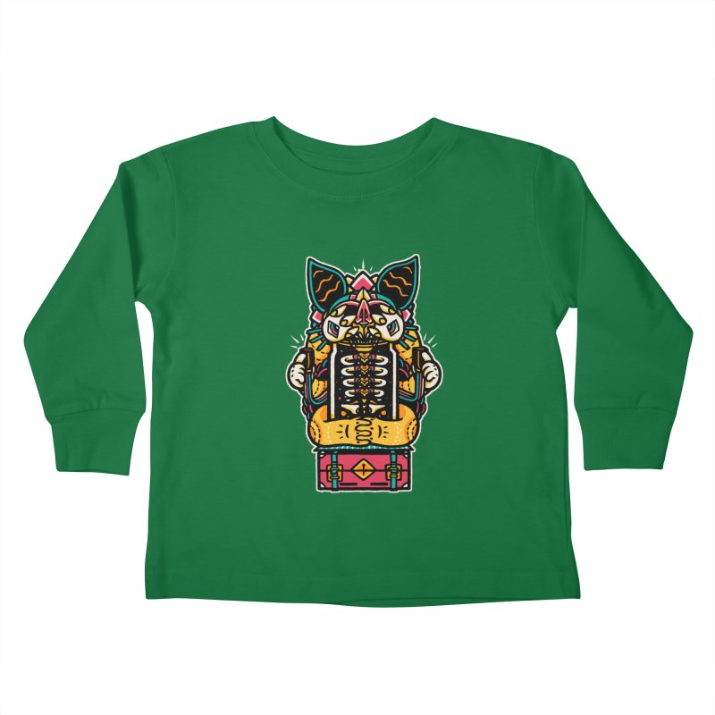 Temple Kids Toddler Longsleeve T-Shirt by rasefour's Artist Shop