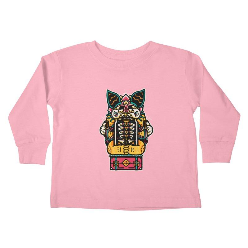 Temple Kids Toddler Longsleeve T-Shirt by rasefour's Artist Shop