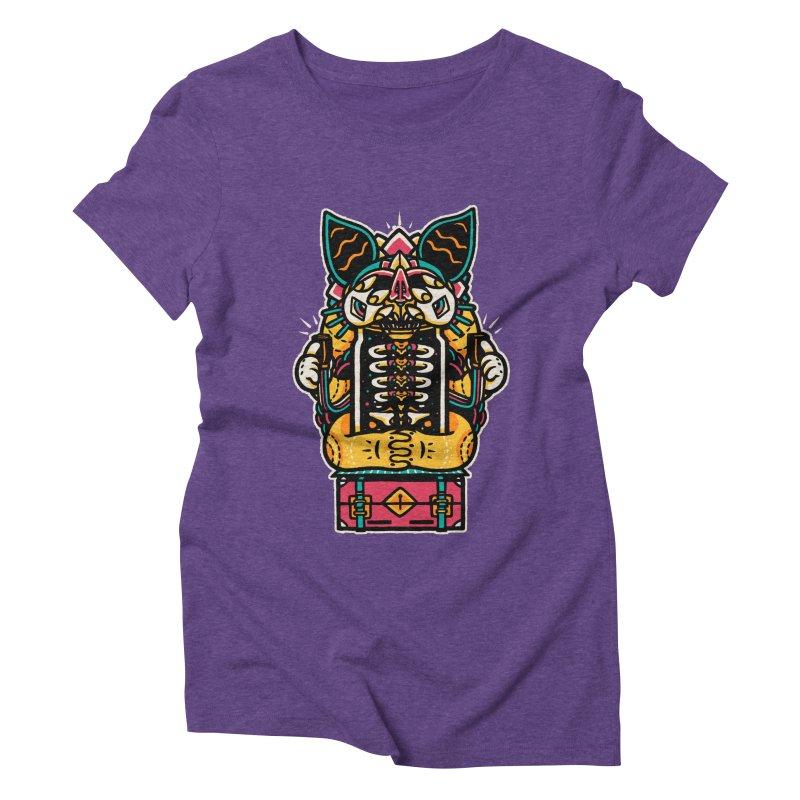 Temple Women's Triblend T-shirt by rasefour's Artist Shop
