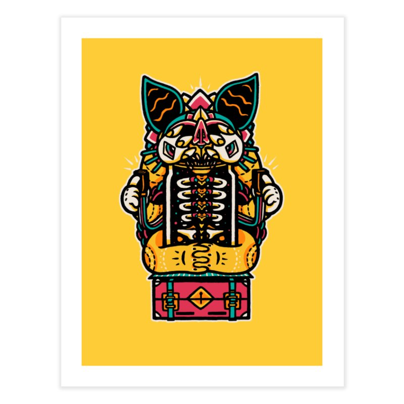 Temple Home Fine Art Print by rasefour's Artist Shop
