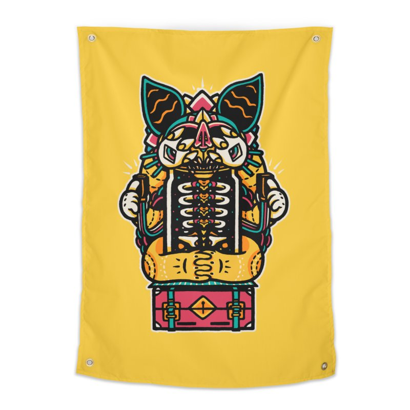Temple Home Tapestry by rasefour's Artist Shop