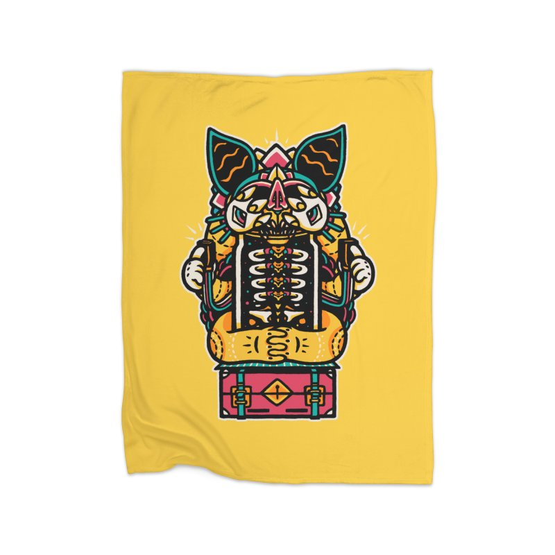 Temple Home Blanket by rasefour's Artist Shop