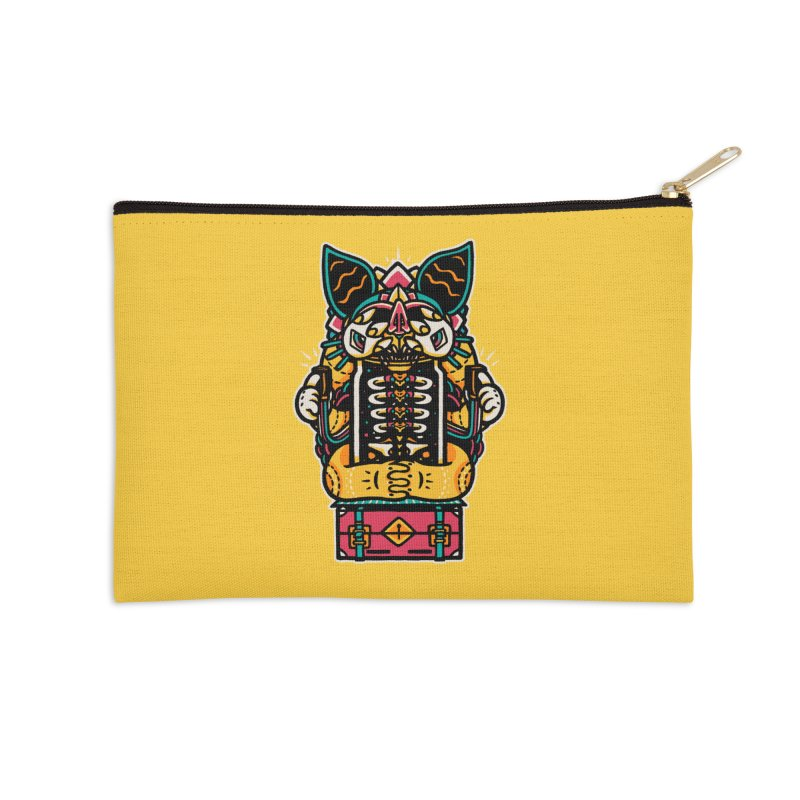 Temple Accessories Zip Pouch by rasefour's Artist Shop