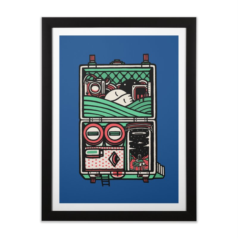 Packing Home Framed Fine Art Print by rasefour's Artist Shop
