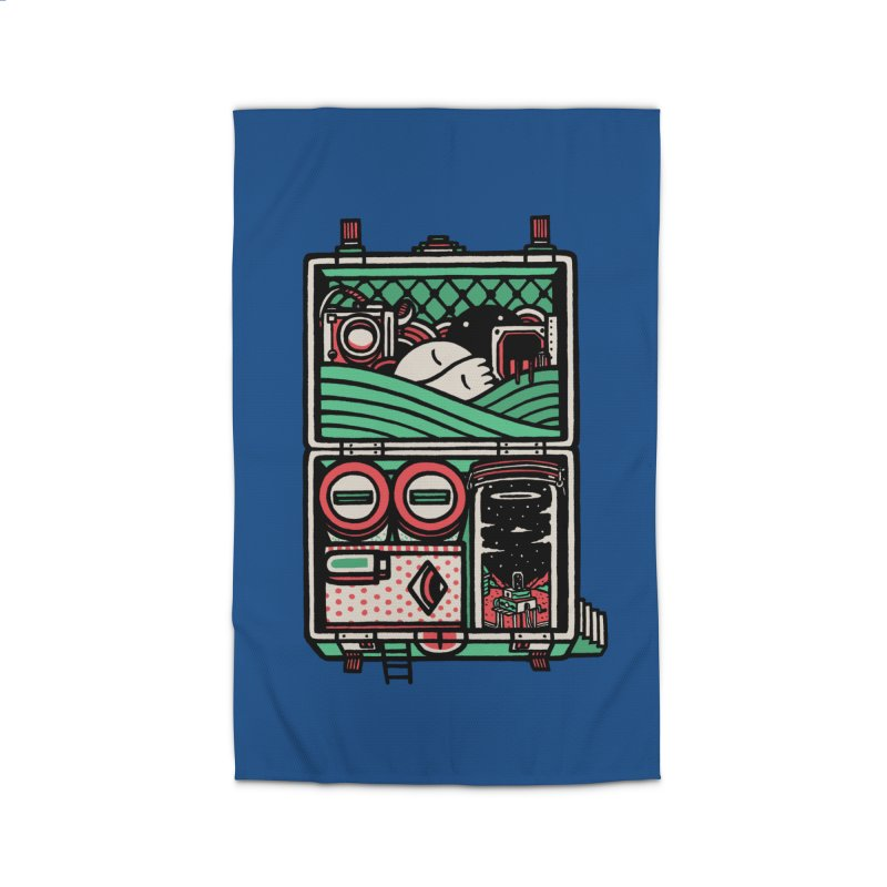 Packing Home Rug by rasefour's Artist Shop