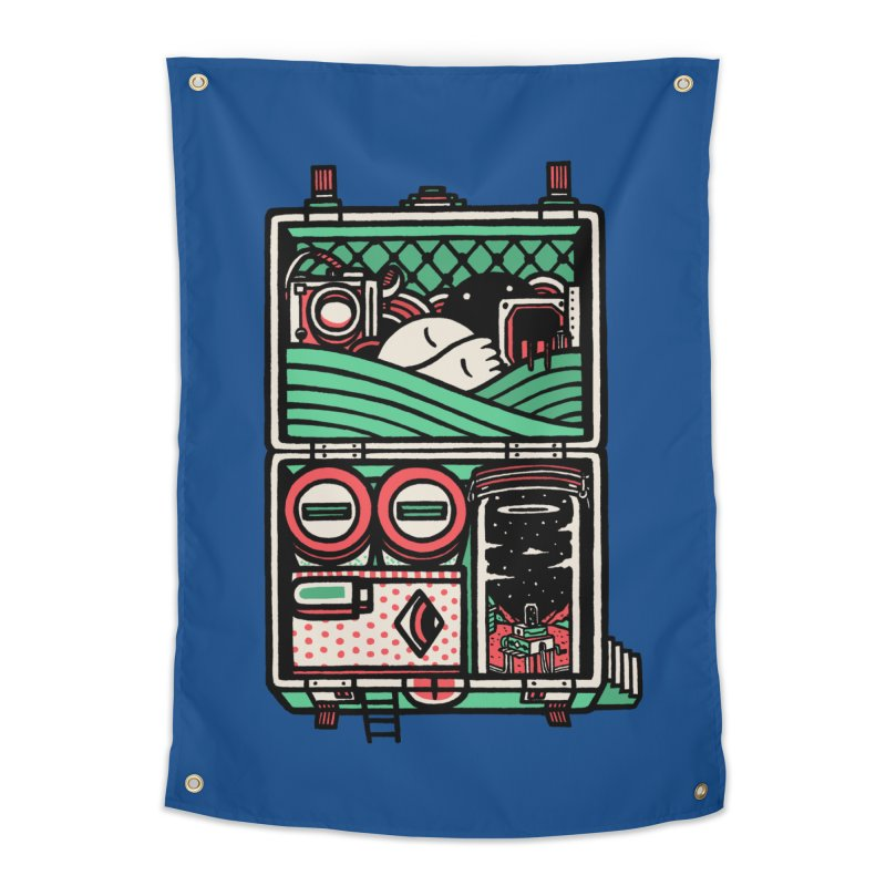 Packing Home Tapestry by rasefour's Artist Shop