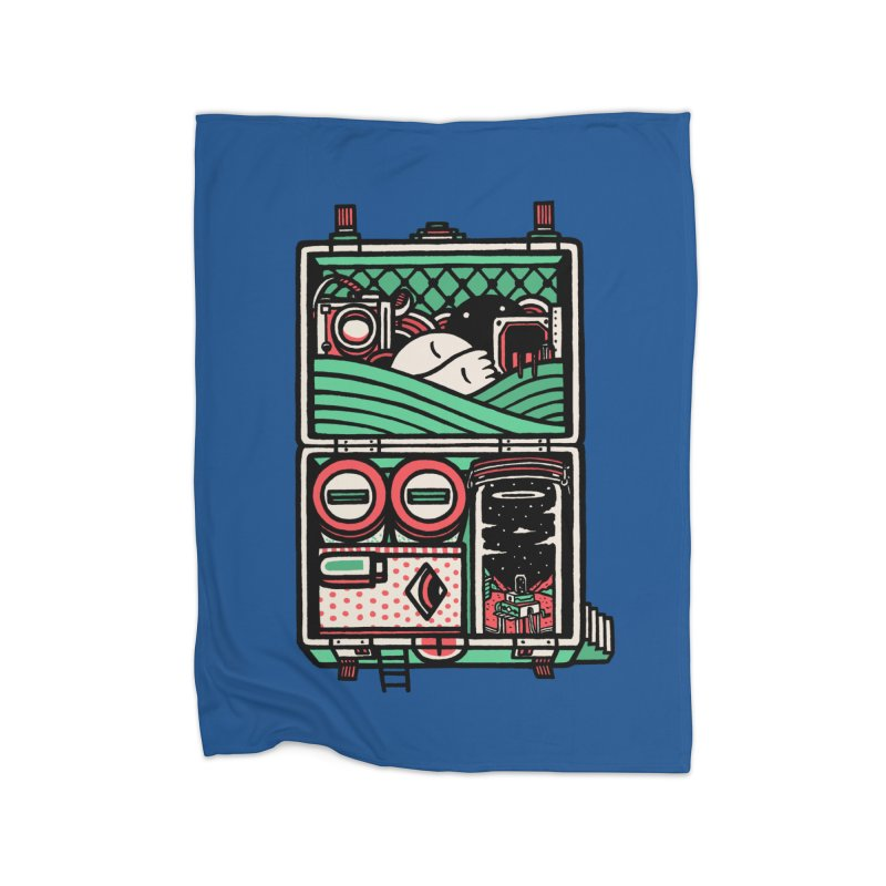 Packing Home Blanket by rasefour's Artist Shop