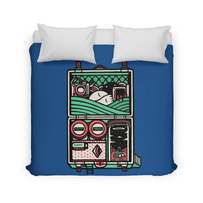 Packing Home Duvet by rasefour's Artist Shop