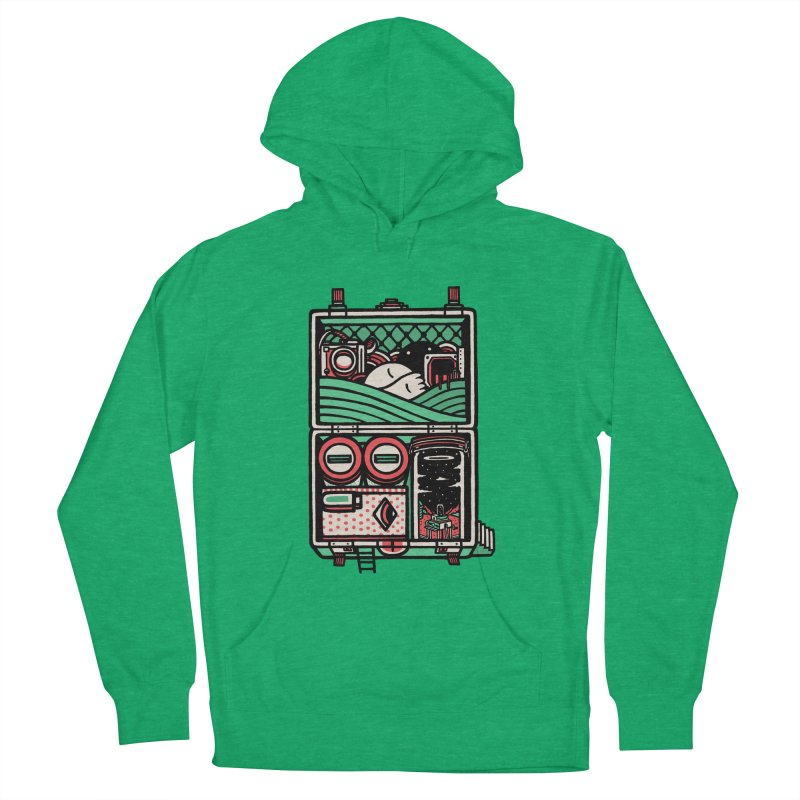 Packing Women's Pullover Hoody by rasefour's Artist Shop