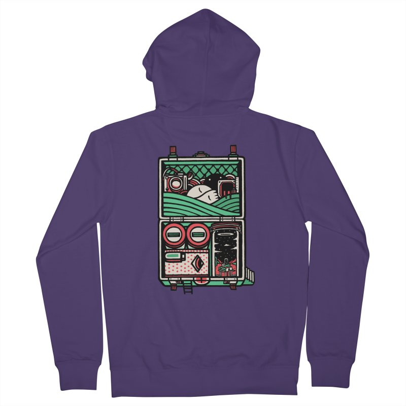 Packing Women's Zip-Up Hoody by rasefour's Artist Shop