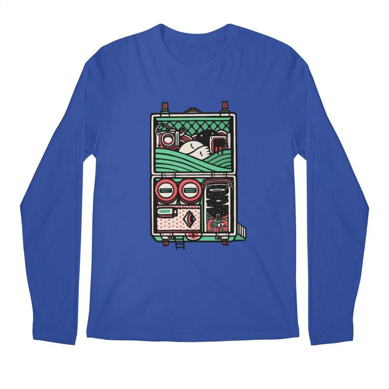 Packing Men's Longsleeve T-Shirt by rasefour's Artist Shop