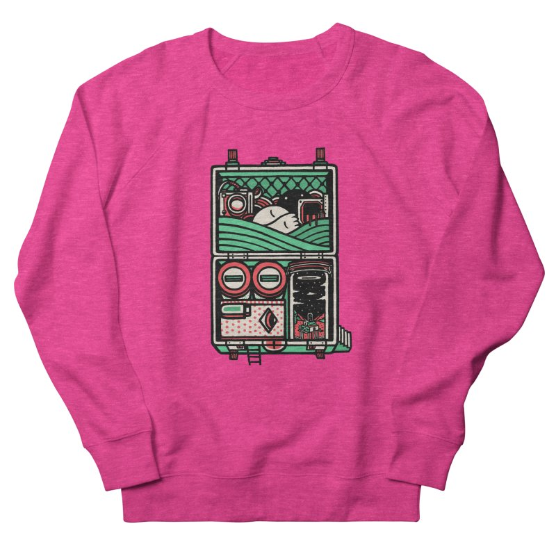 Packing Women's Sweatshirt by rasefour's Artist Shop
