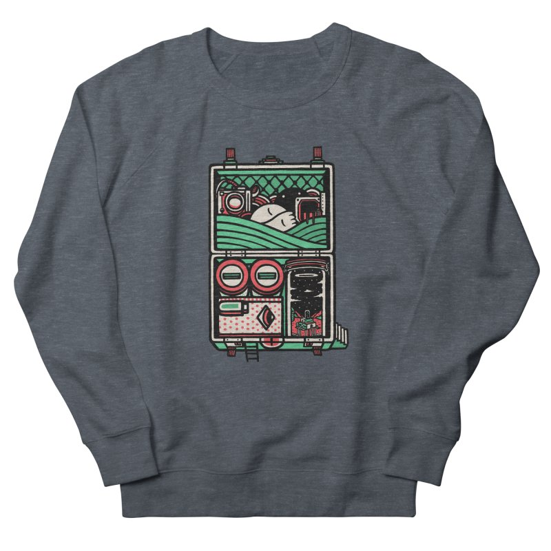 Packing Men's Sweatshirt by rasefour's Artist Shop