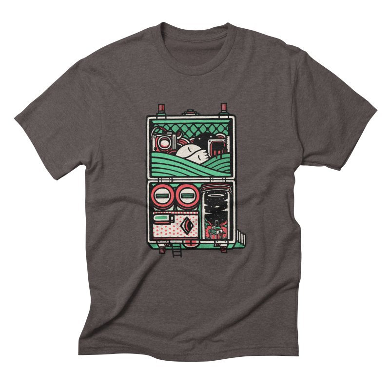 Packing Men's Triblend T-Shirt by rasefour's Artist Shop