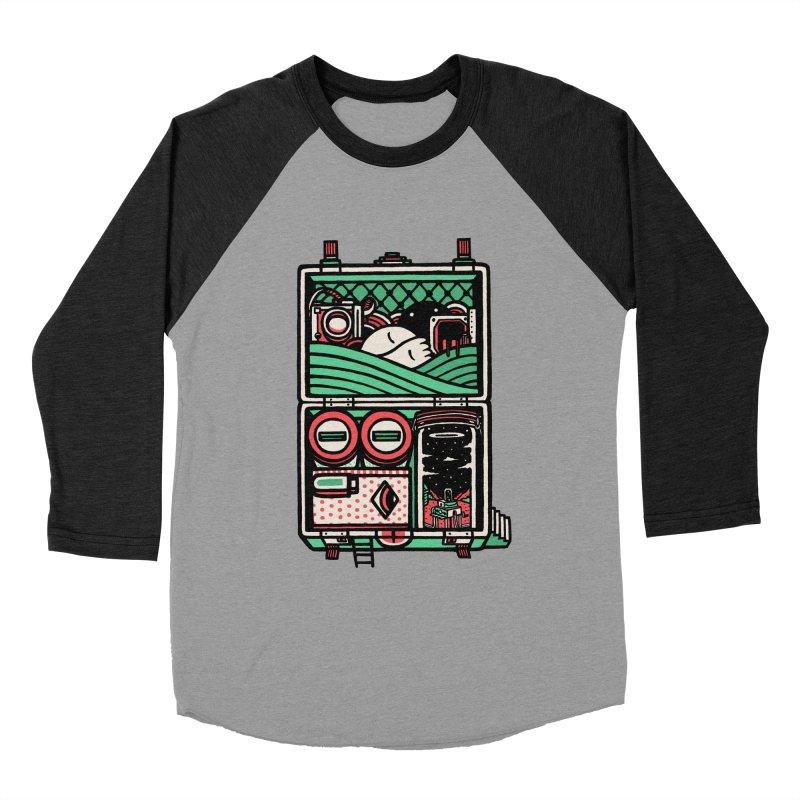 Packing Women's Baseball Triblend T-Shirt by rasefour's Artist Shop