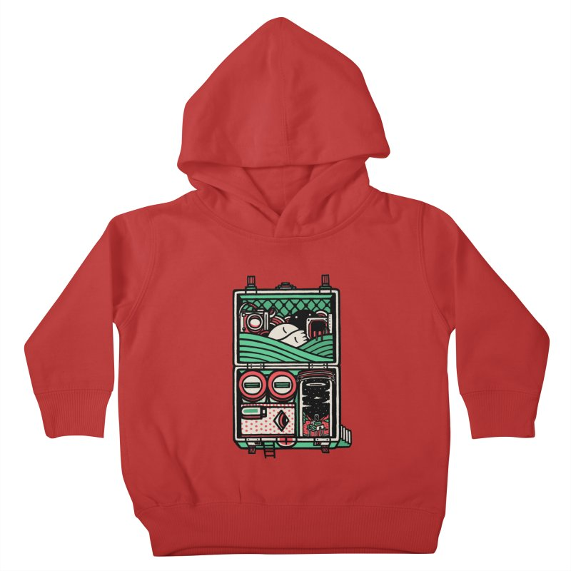 Packing Kids Toddler Pullover Hoody by rasefour's Artist Shop