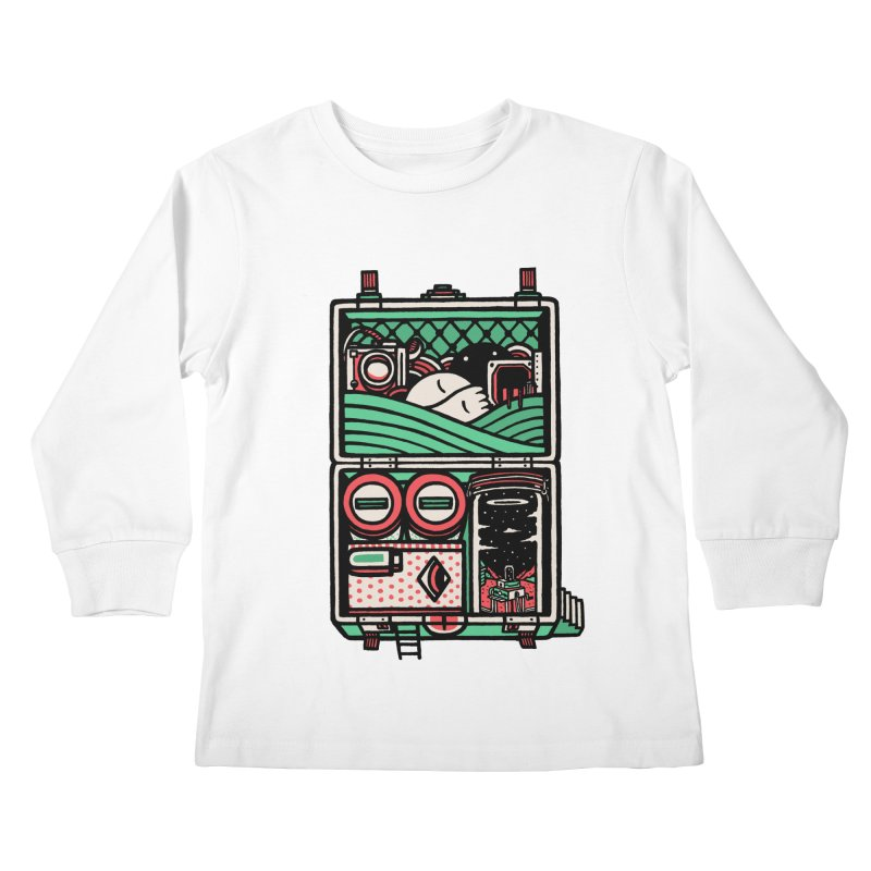 Packing Kids Longsleeve T-Shirt by rasefour's Artist Shop