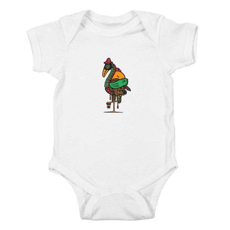 Birth Kids Baby Bodysuit by rasefour's Artist Shop