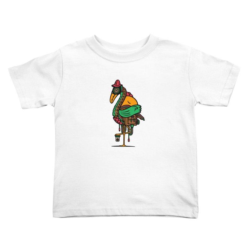 Birth Kids Toddler T-Shirt by rasefour's Artist Shop