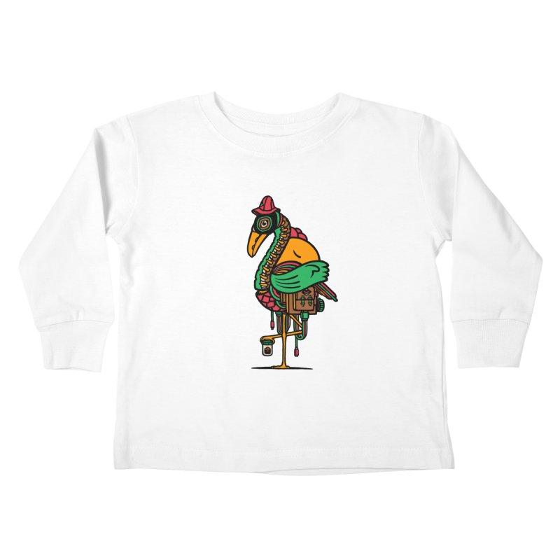 Birth Kids Toddler Longsleeve T-Shirt by rasefour's Artist Shop