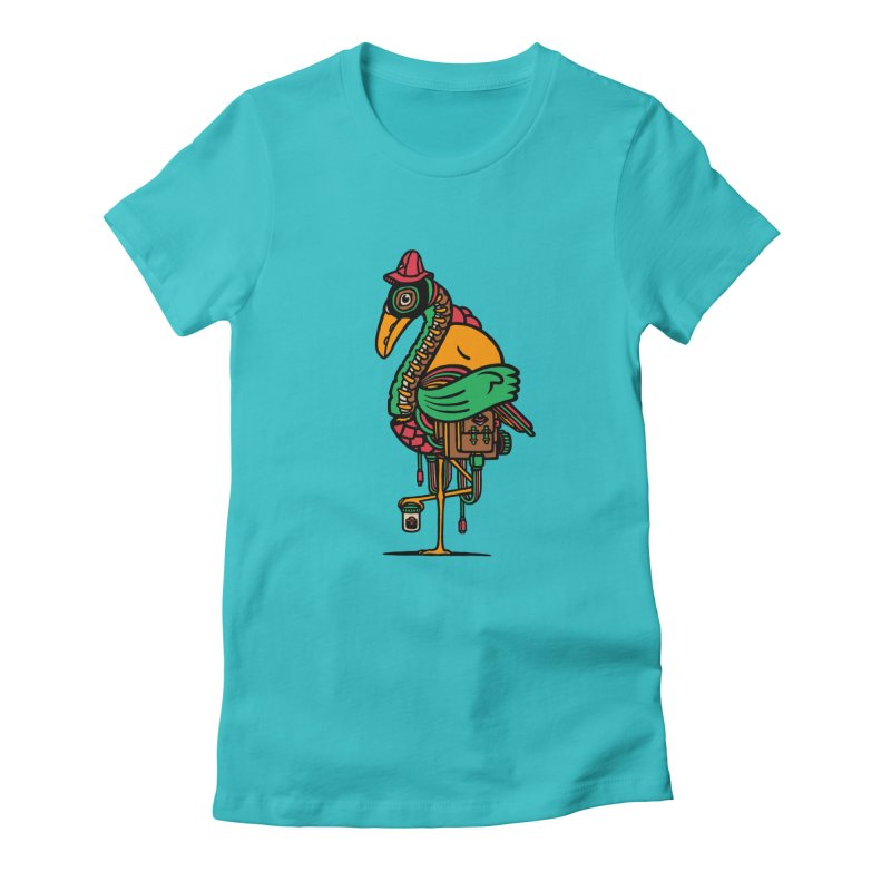 Birth Women's Fitted T-Shirt by rasefour's Artist Shop