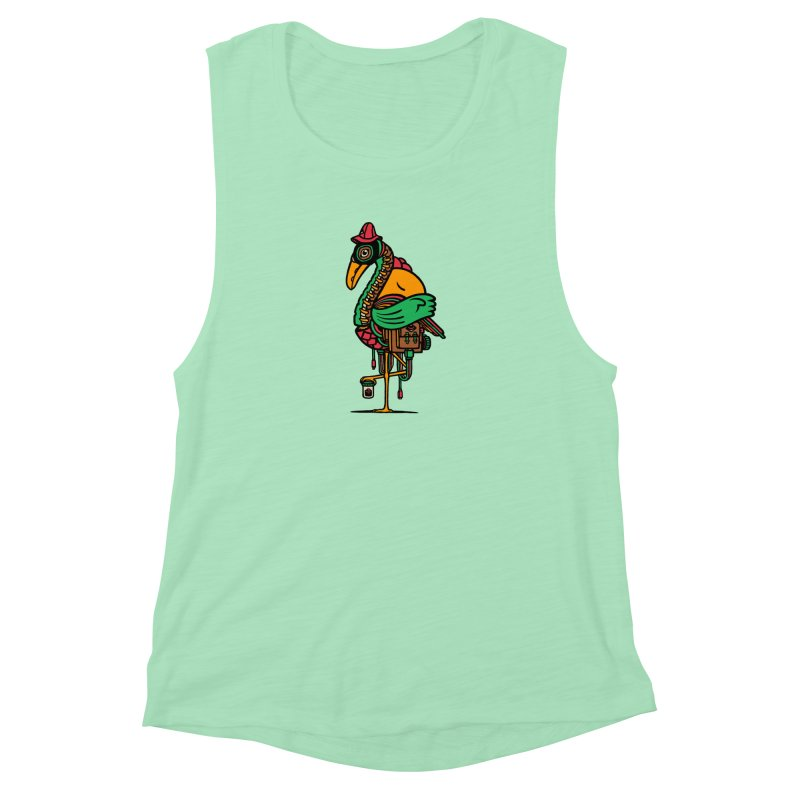 Birth Women's Muscle Tank by rasefour's Artist Shop