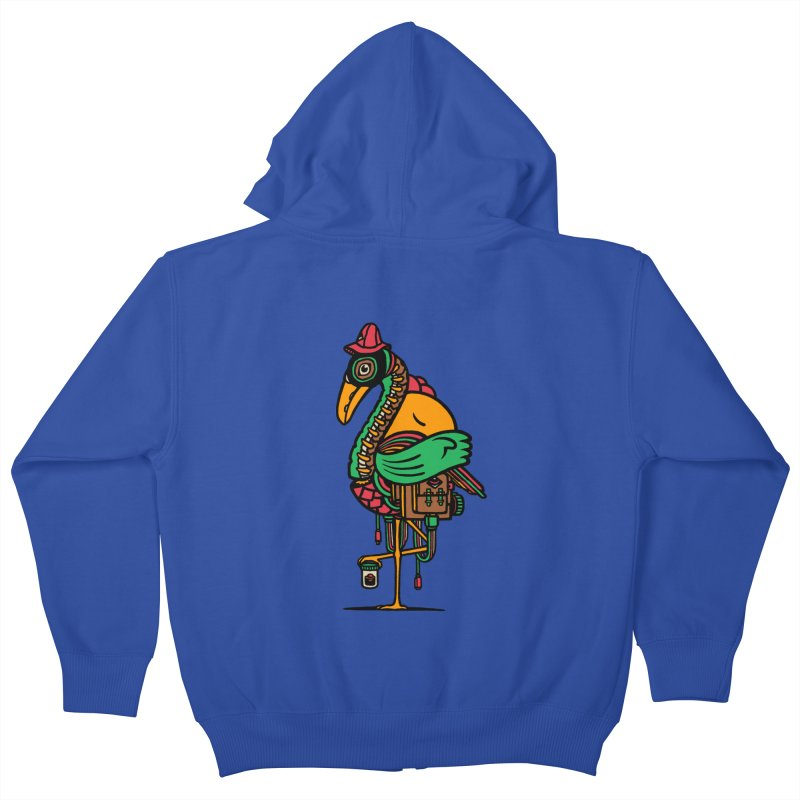 Birth Kids Zip-Up Hoody by rasefour's Artist Shop