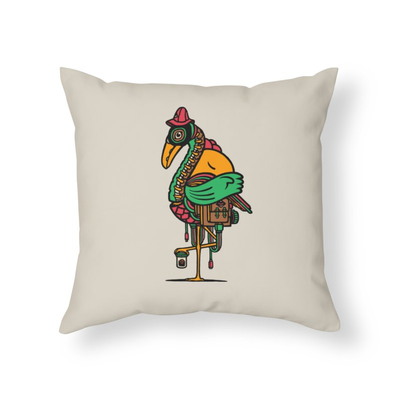 Birth Home Throw Pillow by rasefour's Artist Shop